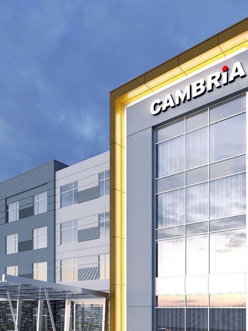 Cambria Suites - Opening late Summer 2019