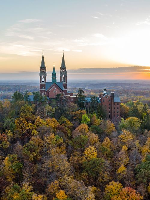 The Basilica and National Shrine of Mary Help of Christians at Holy Hill