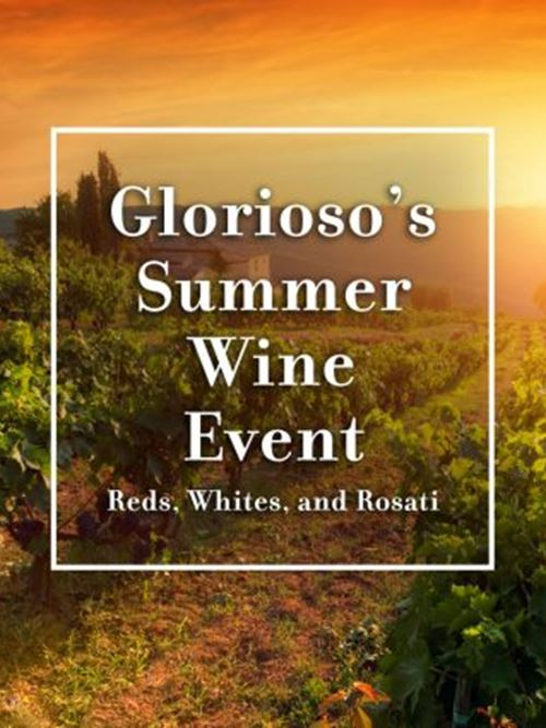 Glorioso's Summer Wine Event