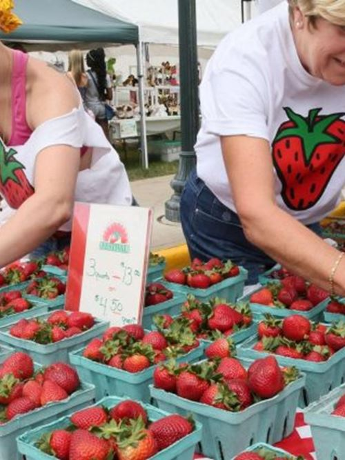 Cedarburg's Strawberry Festival