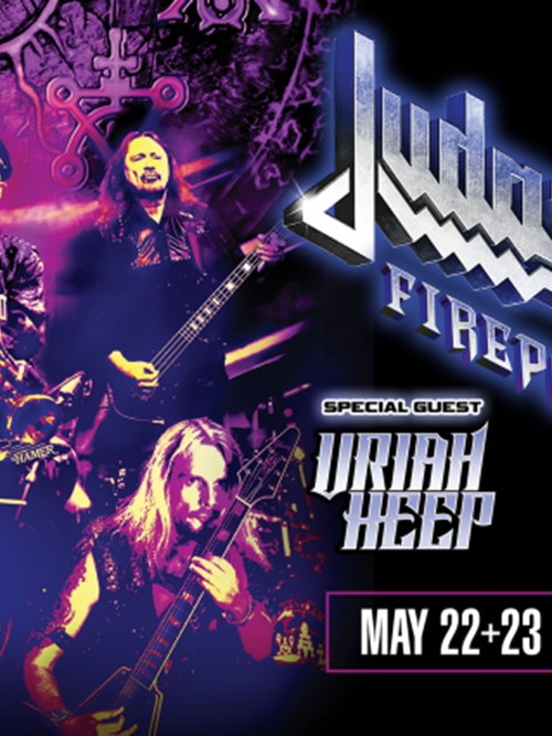Judas Priest at the Riverside Theater