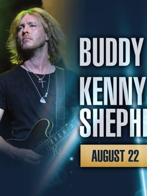 Buddy Guy and Kenny Wayne Shepherd at the Riverside Theater