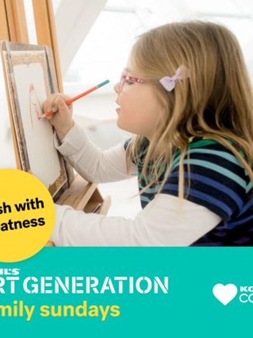 Kohl's Art Generation Family Sundays: Brush with Greatness
