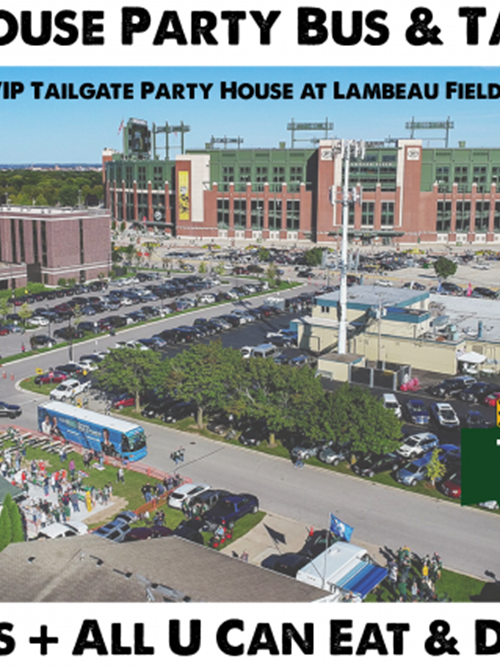 Packers vs Chiefs - VIP Tailgate Party & Coach Bus From Milwaukee Brat House