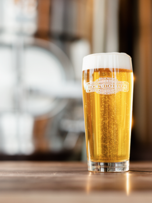 Rock Bottom Restaurant and Brewery August Tapping Event