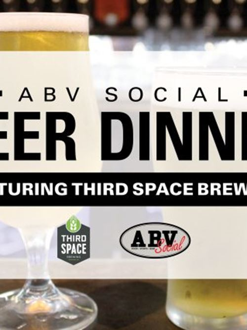 Beer Dinner Featuring Third Space Brewing