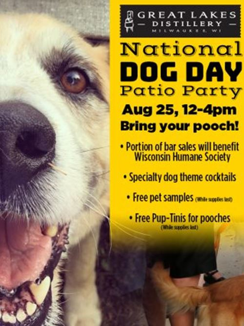 National Dog Day Patio Party