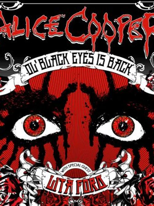 Alice Cooper: Ol' Black Eyes Is Back with special guest Lita Ford