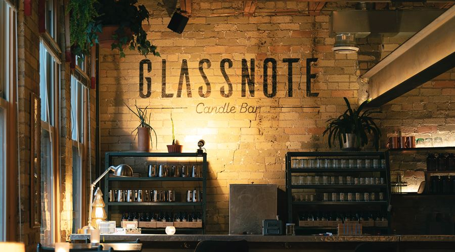 Glassnote Candle Bar