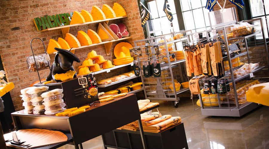 Original Cheesehead Factory & Retail Store by Foamation, Inc.