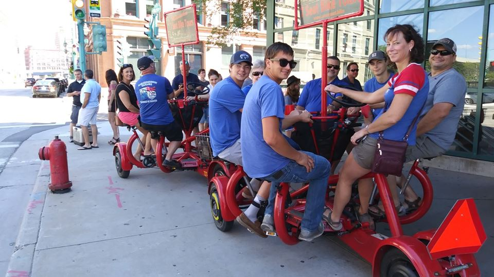 Milwaukee Seven Seat Bike Tours