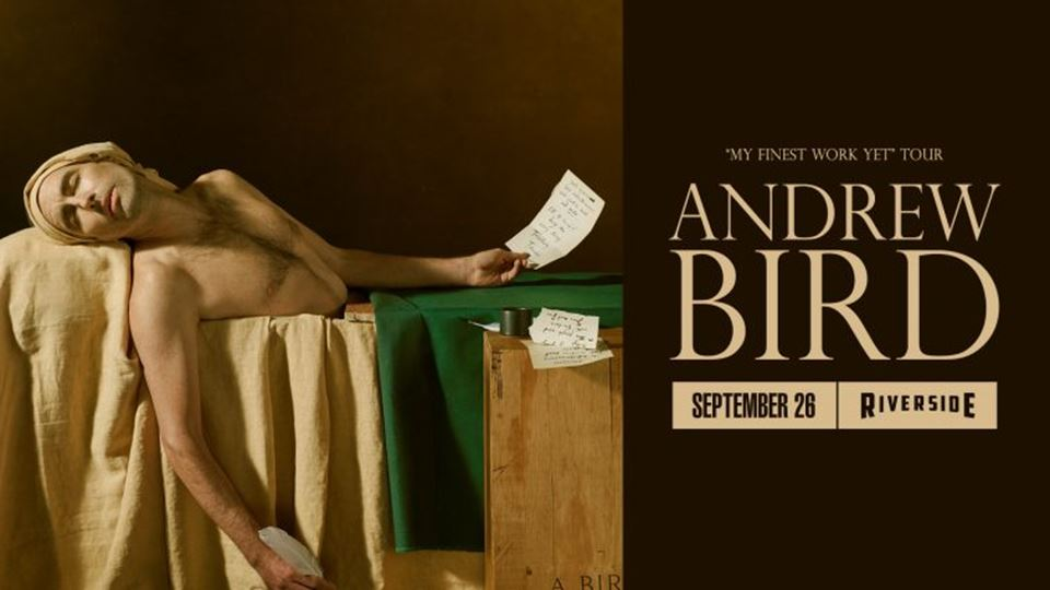 Andrew Bird at the Riverside Theater