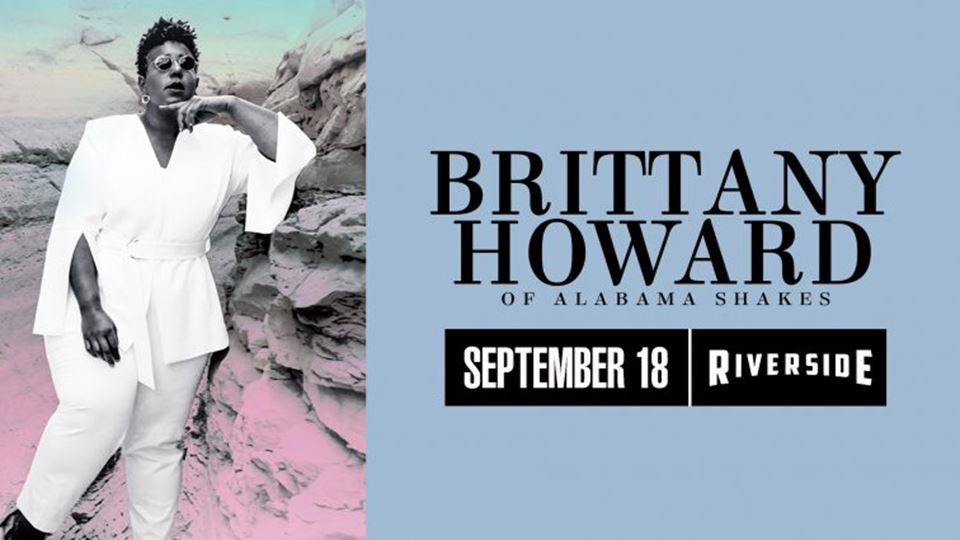 Alabama Shakes' Brittany Howard at the Riverside Theater