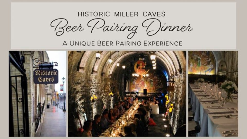 Caves Underground: A Unique Beer Pairing Experience