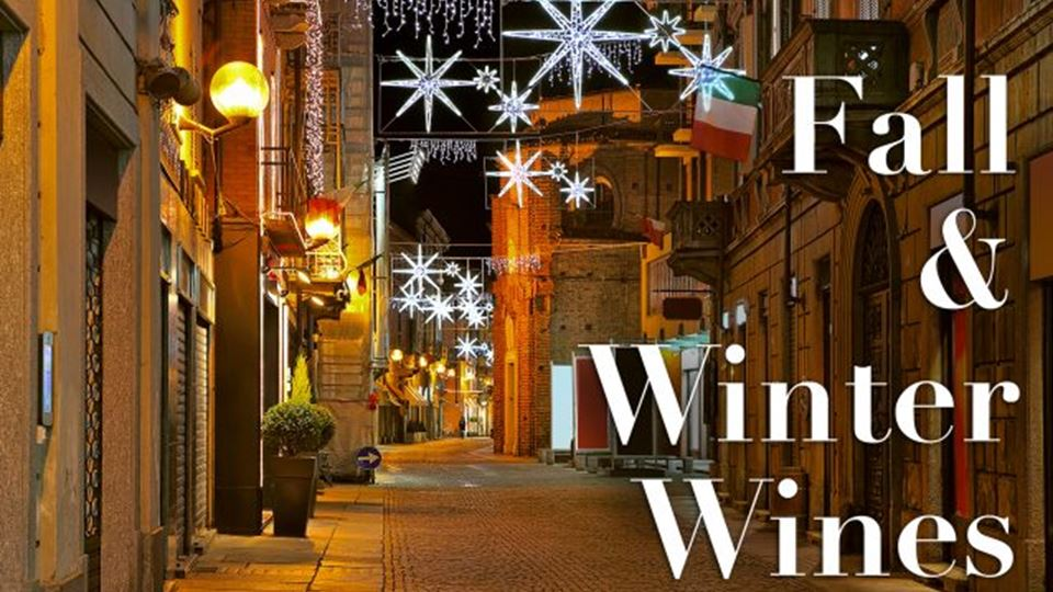 Fall and Winter Winter Wines