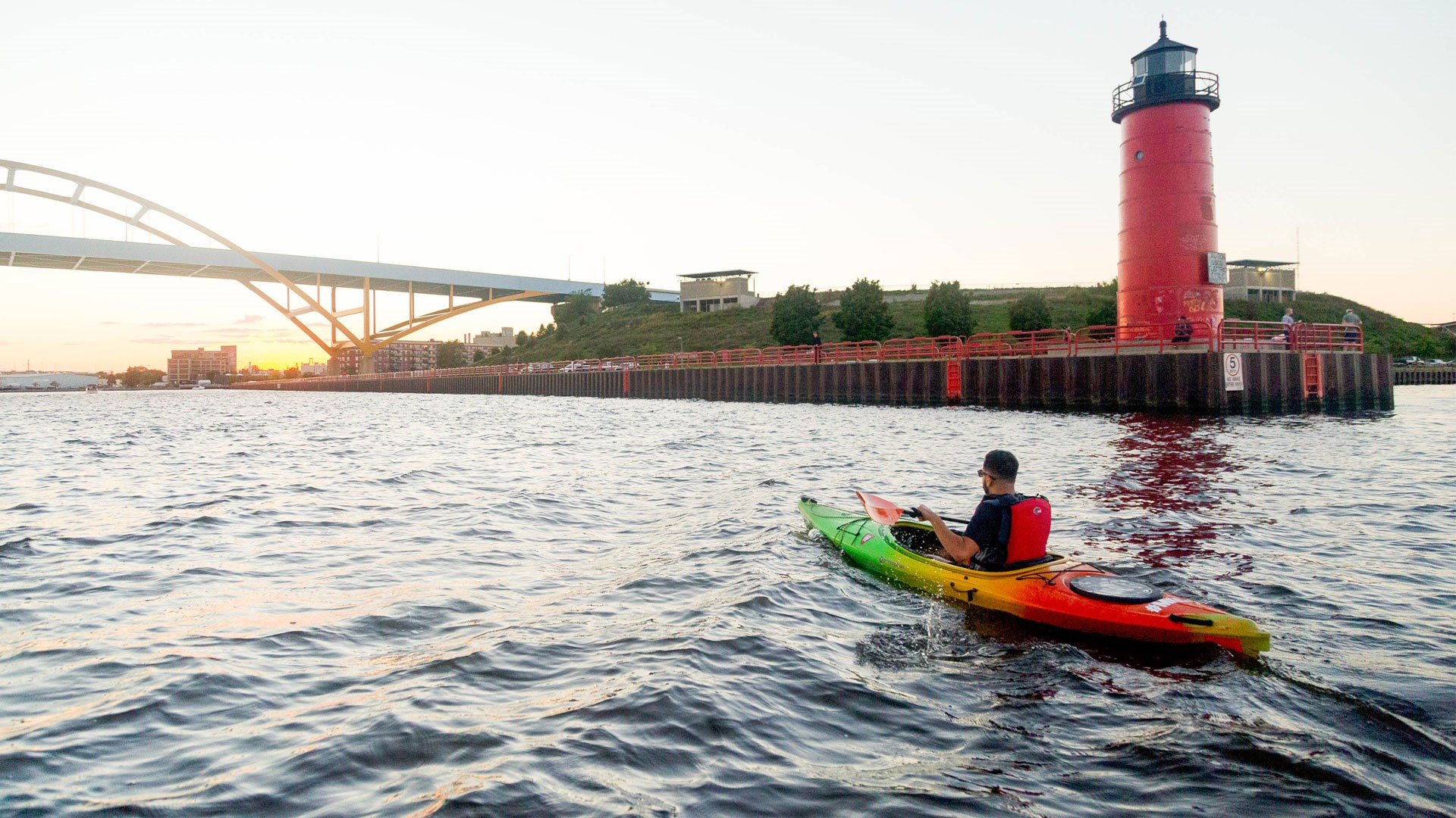 Kayaking in Milwaukee