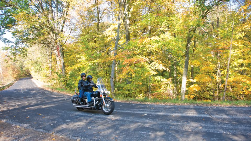 Scenic Motorcycle Rides in Wisconsin