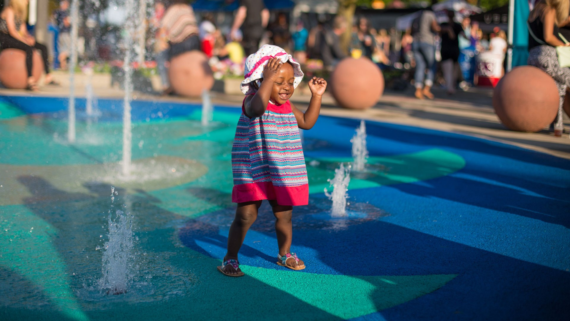 Summerfest Splashpad