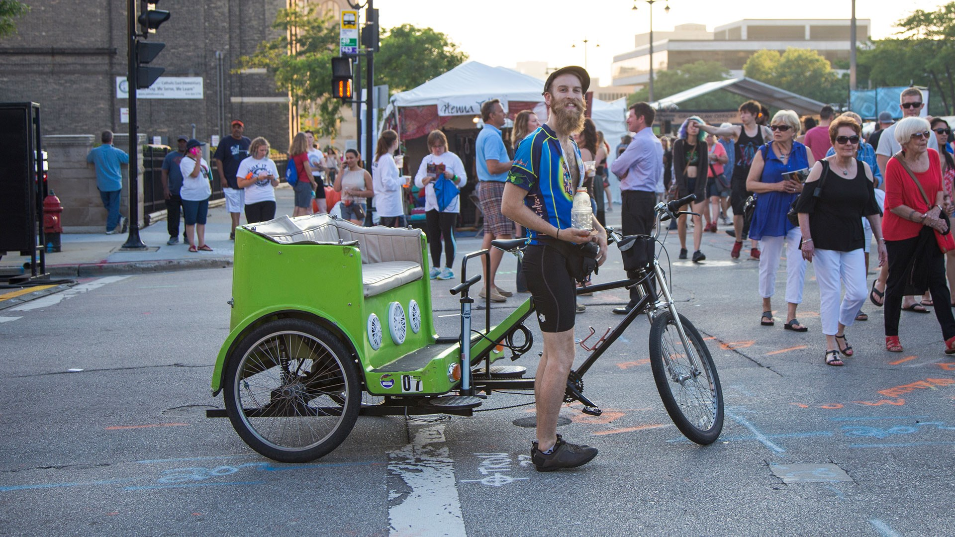 Forward Pedicabs