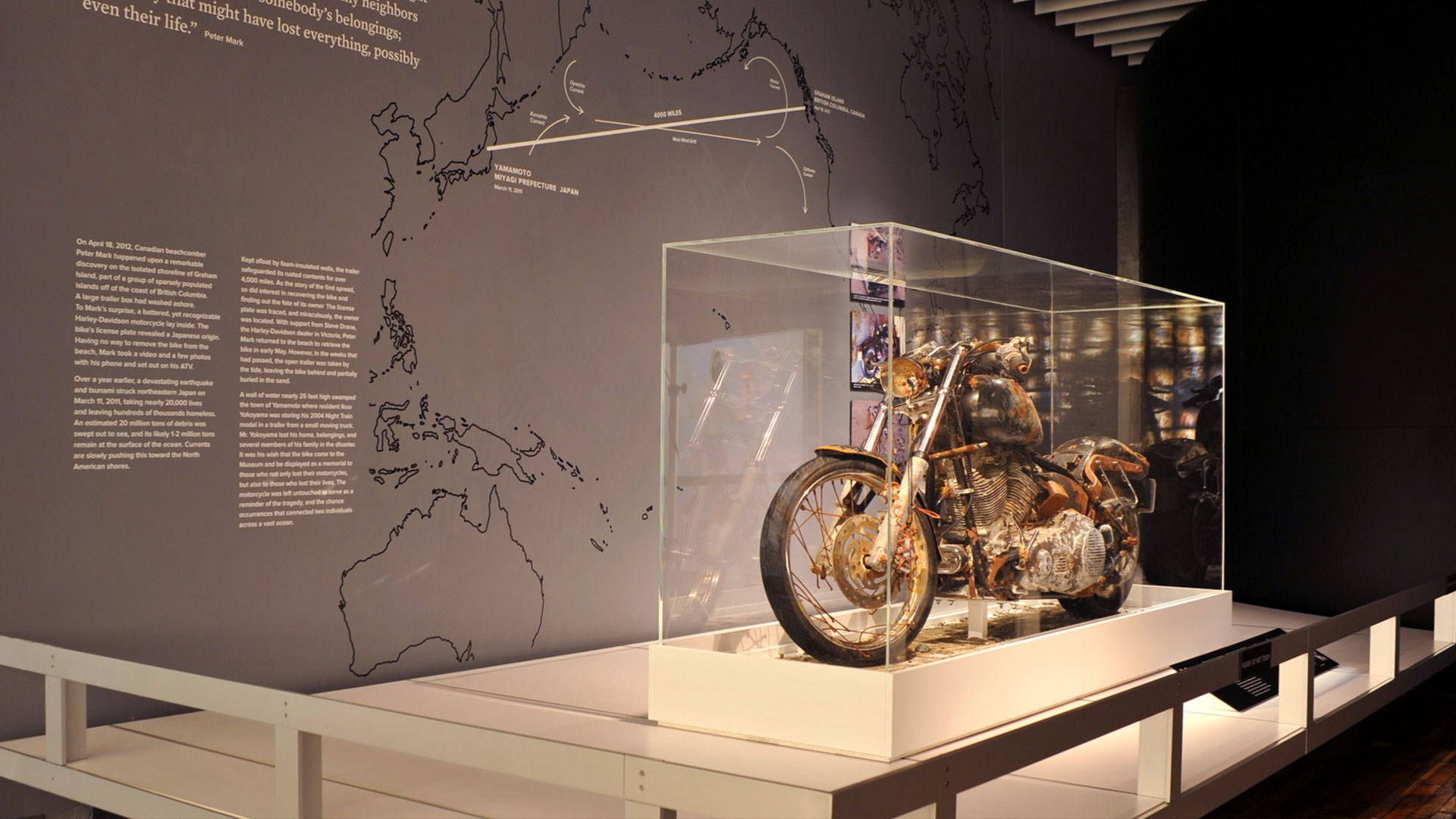 The Bike That Rode the Tsunami